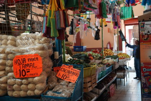A little Spanish is useful if you want to shop in the local markets.