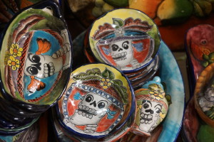 Catrina Images on china. Market in San Miguel de Allende