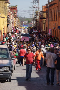 Parade of the Children San Miguel de Allende