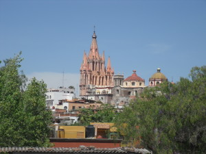 The Parroquia in San Miguel de Allende