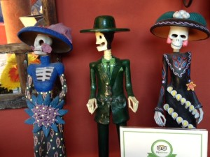 Skeletons in Folk Art. San Miguel de Allende