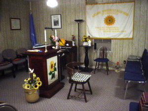 Inside the Central Spiritualist Church of Oklahoma City