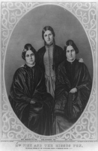 Margaret, Kate and Leah Fox