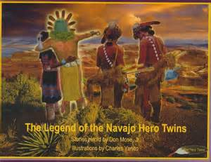 Monster Slayer and Born For Water. Navajo Hero twins