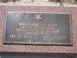 Billy Dixon's final resting place at Adobe Walls
